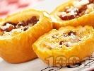 Рецепта Печени ябълки с орехи и стафиди